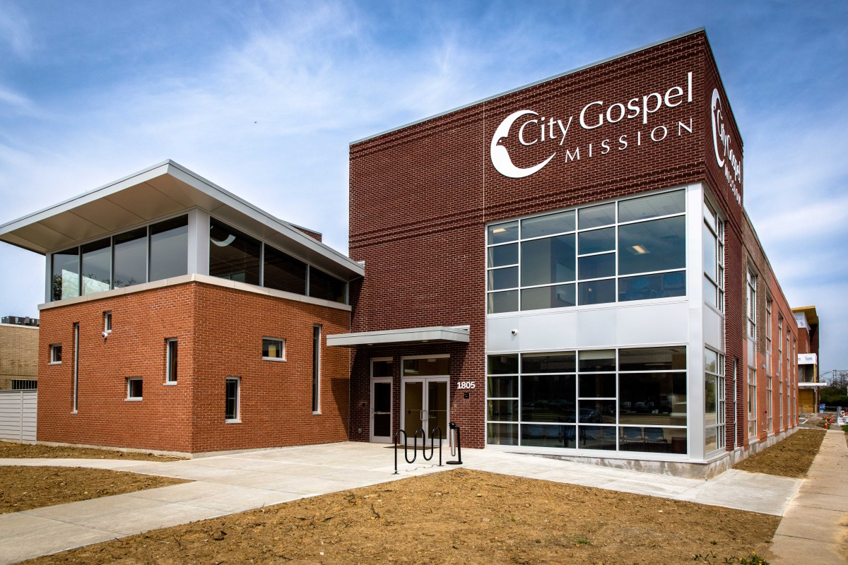 City Gospel Mission homeless shelter